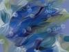 Tiina Moore - Blue Silk Scarf