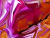 Tiina Moore - Vibrant Lining, Digital Print