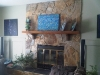 above-the-fireplace