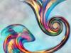 Tiina Moore - Leap Pastel, Digital Print