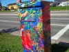 Tiina Moore - Country Hills Utility Box - Orchid Fractals, 2015
