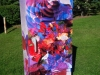 Tiina Moore - Country Hills Utility Box - Tropical Fractals, 2014