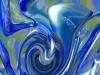 Tiina Moore - Blue Silk 3d, Digital Print